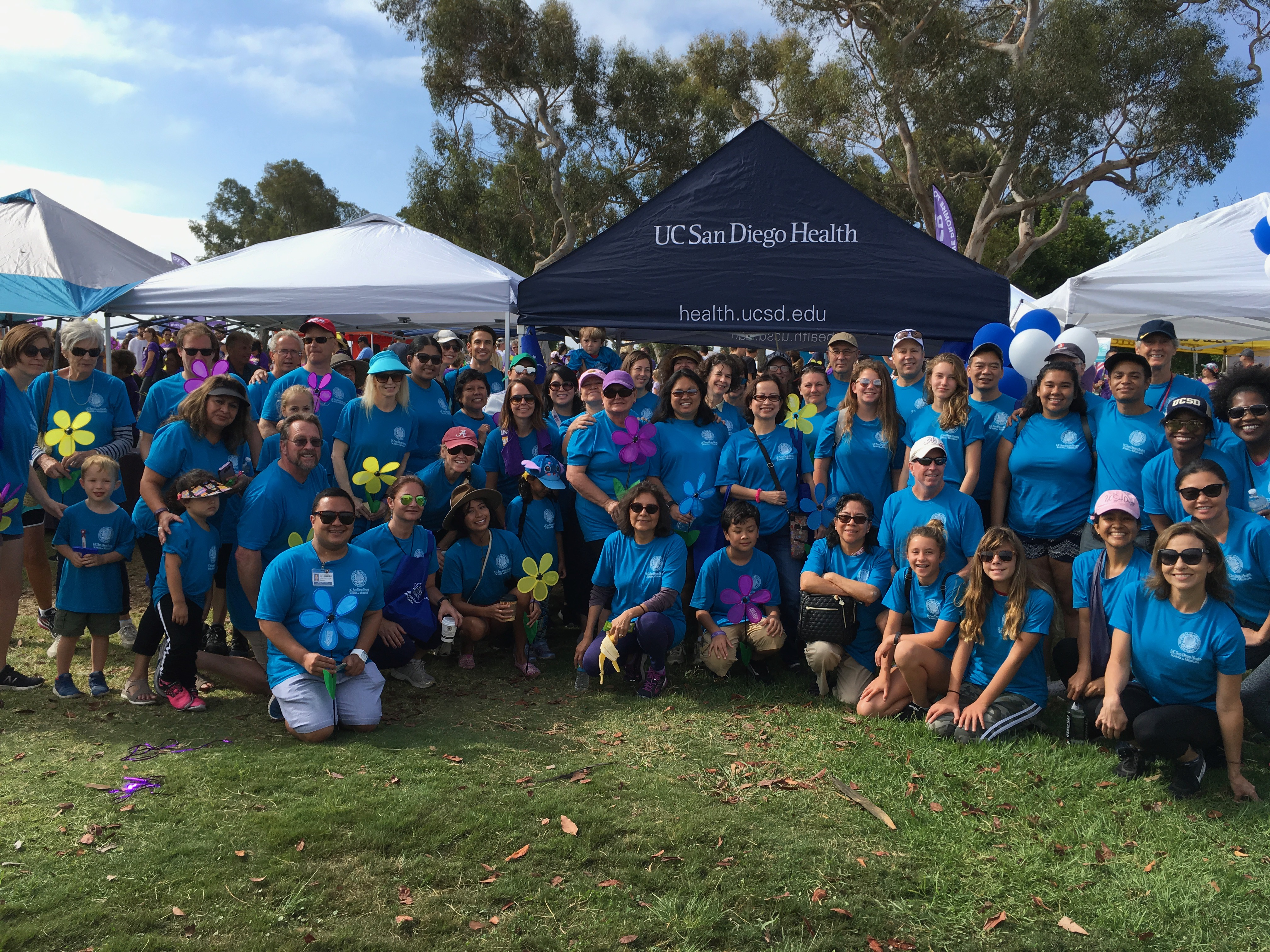 Thank you for joining us on the Alzheimer's Walk!